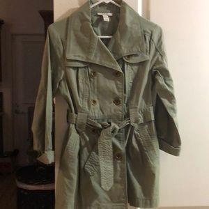 Style & Co Petite Light Jacket Khaki Soze P/P